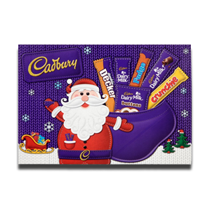 Cadbury Medium Santa Chocolate Carton 150g