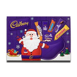 Cadbury Medium Santa Chocolate Carton 150g