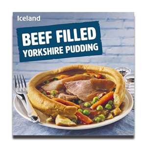 Iceland Beef Filled Yorkshire Puddings 160g