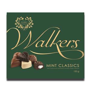 Walkers Mint Classics Britain Chocolate 120g