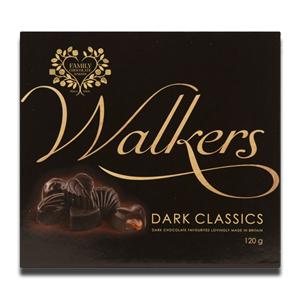 Walkers Dark Classics Britain Chocolate 120g