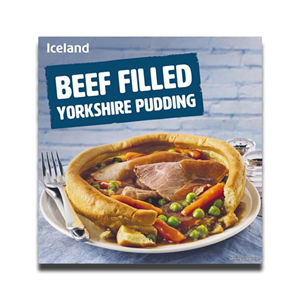Iceland Beef Filled Yorkshire Puddings 320g