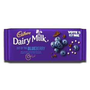 Cadbury Dairy Milk Blueberry 105g