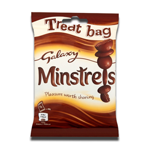 Galaxy Minstrels Chocolate Treat Bag 80g