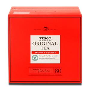 Tesco Original tea Smooth Rounded 80's