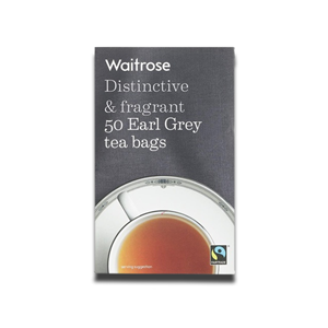 Waitrose Earl Grey Tea Bags 50's