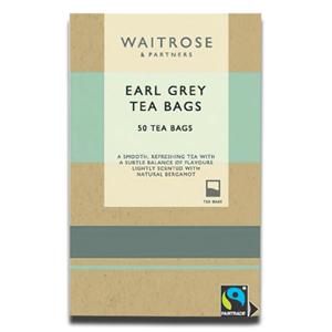 Waitrose English Breakfast Tea Bags 50's