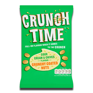 Crunch Time Coated Nuts Sour Cream & Chives 120g