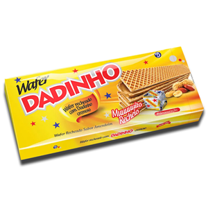 Wafer Dadinho Recheado Sabor Amendoim 130g