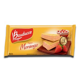 Bauducco Wafer Morango 78g