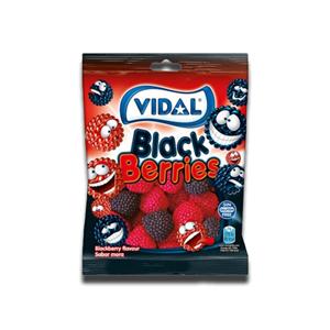 Vidal Gomas Berries Black & Red 100g