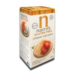 Nairn's Oatcakes Gluten Free Cheese 180g
