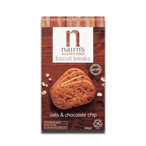 Nairn's Biscuit Breaks Oat Chocolate Chip 160g