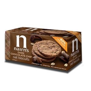 Nairn's Oat Biscuits Dark Chocolate Chip 200g