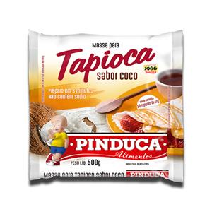 Pinduca Massa para Tapioca Sabor Côco 500g