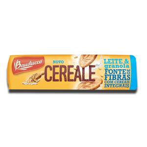 Bauducco Biscoito Integral Leite e Granola 165g
