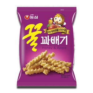 Nongshim Honey & Apple Flavored Twist Snack 75g