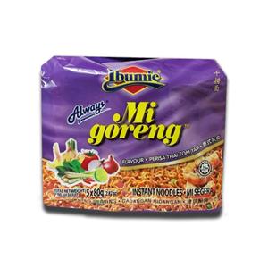 Ibumie Mi goreng Perisa Thai Tom Yam 80g