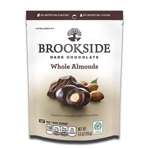 BrookSide Dark Chocolate Whole Almonds 155g