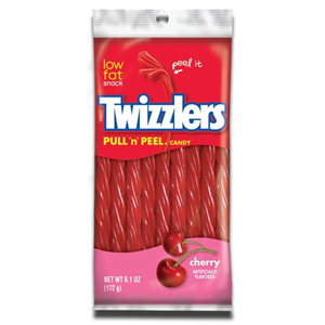 Twizzlers Pull N peel Candy Cherry 172g