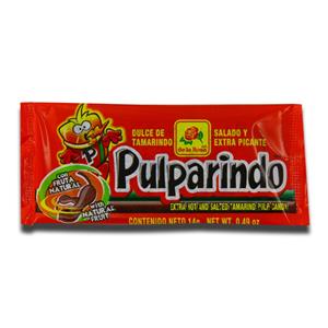 Pulparindo Extra Hot Candy 14g