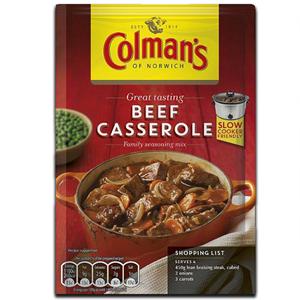 Colmans Beef Casserole Mix 40g