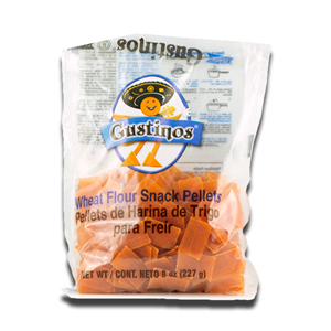 Gustinos Square Wheat Flour Snack Pellets 227g
