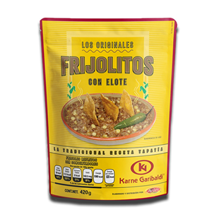 Karne Garibaldi Los Originales Beans and Corn 420g