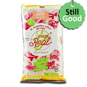 Maza Real Farinha de Milho Vermelho 1Kg