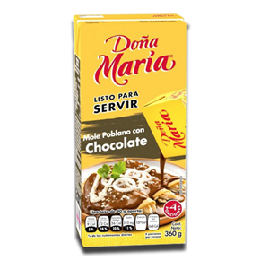Doña Maria Mole Poblano com Chocolate 360g