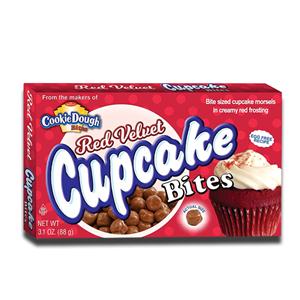 Cookie Dough Red Velvet Cupcake Bites 88g