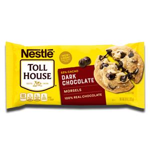 Nestlé Toll House Dark Chocolate Morsels 283g