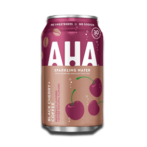 Aha Sparkling Water Black Cherry & Coffee 355ml