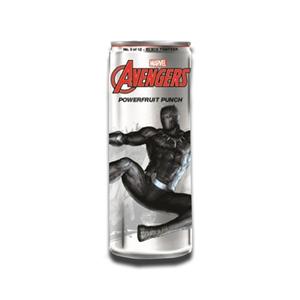 Marvel Avengers Powerfruit Punch Black Panther Energy Drink 355ml