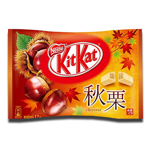 Nestlé Kit Kat Japanese 14 Mini Chestnut Flavour 135g