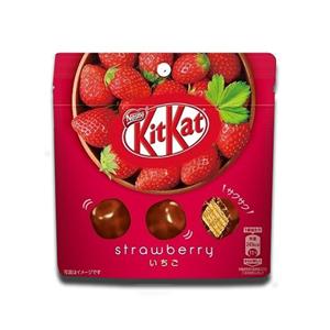 Nestlé Kit Kat Japanese KitKat Big Little Cubes Strawberry Flavour 45g