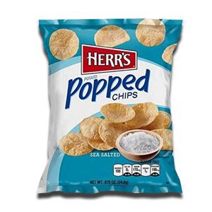 Herr's Potato Chips Sea Salted 24.8g