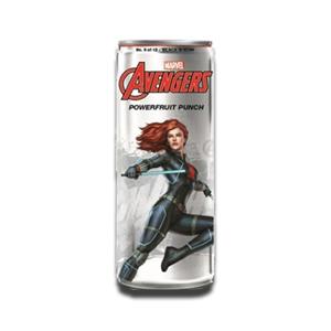 Marvel Avengers Powerfruit Punch Black Widow Energy Drink 355ml