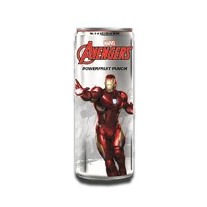 Marvel Avengers Powerfruit Punch Iron Man Energy Drink 355ml