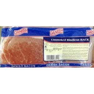 Unsmoked Back Bacon 400g