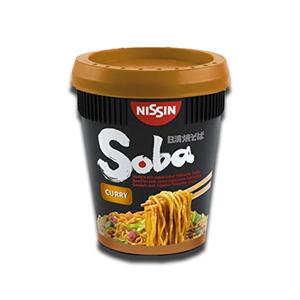 Nissin Soba Thai Cury Cup Noodles 90g