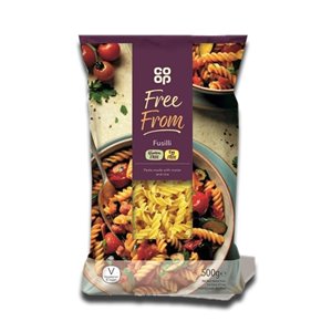 Coop Free From Fusilli 500g