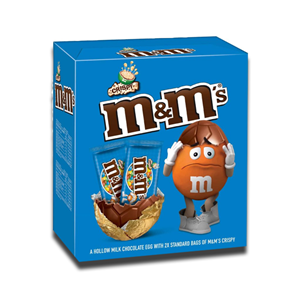 M&M's Crispy Chocolate Large Easter Egg 250g