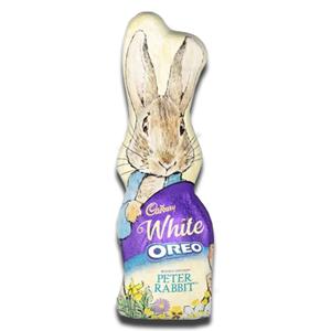 Cadbury White Oreo Peter Rabbit Hollow Bunny 100g