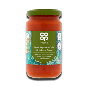 Coop Italian Sweet Pepper & Chilli Stir in Pasta Sauce 190g