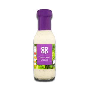 Coop Garlic & Herb Dressing 250ml
