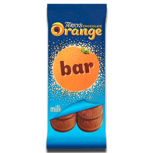 Terry's Chocolate Orange Big Bar Block Milk Chocolate 90g