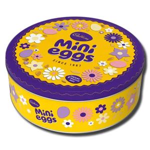 Cadbury Chocolate Mini Eggs Tin 319g