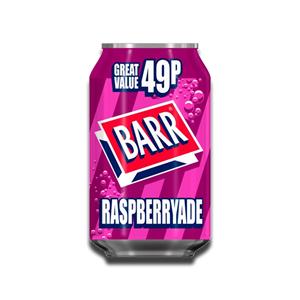 Barr Raspberryade 330ml