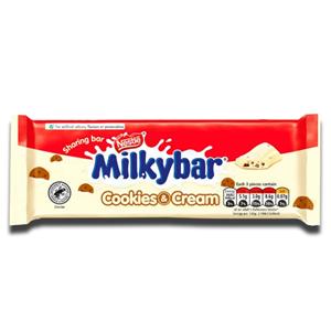 Nestlé Milkybar Cookies & Cream 90g